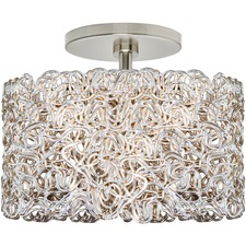 Spaga Large Ceiling Semi Flush Mount