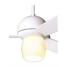 Plum Ceiling Fan with Open Light