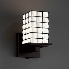 Montana Square Flat Rim Wire Wall Sconce