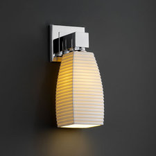 Aero Tall Tapered Square Wall Sconce