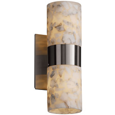 Dakota Up/Down Light Flat Rim Wall Sconce