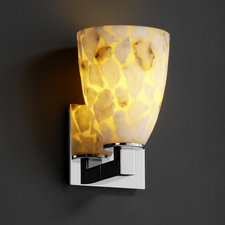 Modular Short Tapered Cylinder Wall Sconce