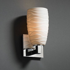 Modular Tall Tapered Limoges Wall Sconce