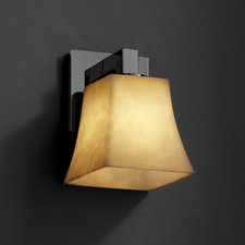 Modular Square Flared Wall Sconce
