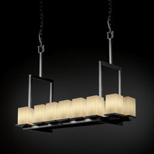 Montana Square Flat Rim Fusion Linear Suspension