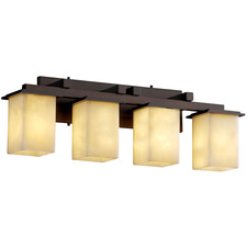 Montana Four Light Square Bath Bar