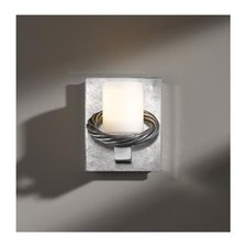 Cavo Glass Wall Light Vintage Platinum