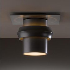 Twilight Outdoor Incandescent Flush Mount