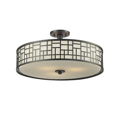 Elea Ceiling Semi Flush Light