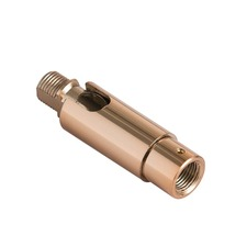 Slope Ceiling Adapter Rose Gold Pivot