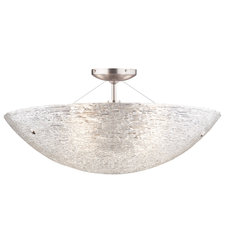 Trace Semi Flush Ceiling Light