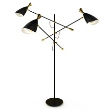 Duke Adjustable Arm Floor Lamp