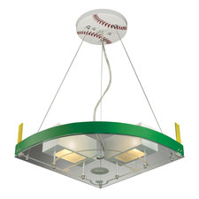 Novelty Baseball Field Pendant