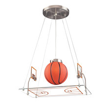 Novelty Basketball Court Pendant