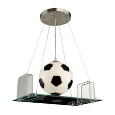 Novelty Soccer Field Pendant