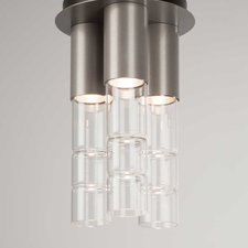 Bamboo Semi Flush Mount