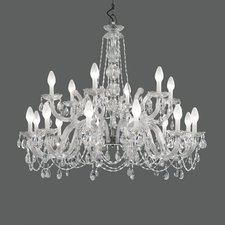 Drylight Outdoor Two Tier Chandelier