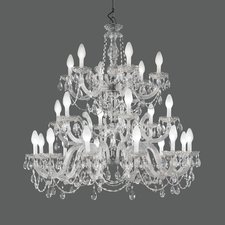 Drylight Outdoor Three Tier Chandelier
