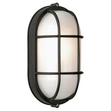Oceanview Outdoor Oval Wall Sconce