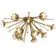 Sputnik Ceiling Light Fixture