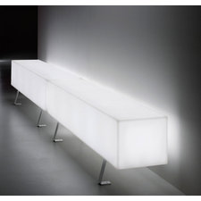 Futura Lettera I Indoor Outdoor Lighted Seat