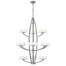 Meridian 3 Tier Chandelier