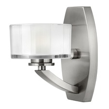 Meridian 1 Light Bathroom Vanity Light