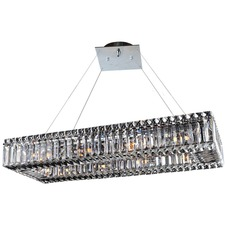Baguette Rectangular Chandelier