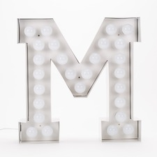 Vegaz M LED Alphabet Lamp