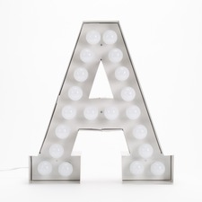 Vegaz A LED Alphabet Lamp