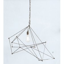Maquette Wide Single Chandelier