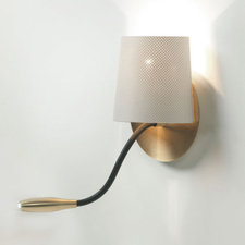 Bams Conic Wall Sconce with Task Light