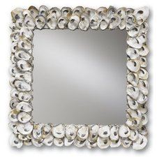 Oyster Shell Wall Mirror
