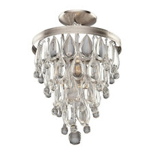 Pebble Ceiling Semi Flush Mount