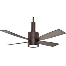 Bullet Ceiling Fan with Light