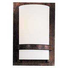Fieldale Lodge CFL Wall Sconce