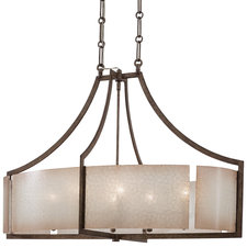 Clarte 5-Light Oval Pendant