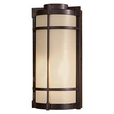 Andrita Court Flush Outdoor Wall Sconce
