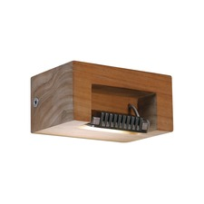 Log Outdoor Wall Sconce