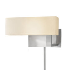 Mitra LED Compact Swing Left Plug-in Wall Light
