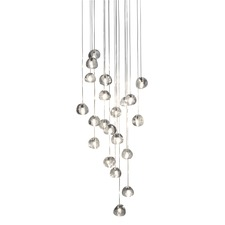 Mizu 26 Light Square Pendant