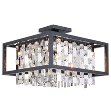 Amethyst Ceiling Semi Flush Mount