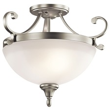 Monroe Semi Flush Mount