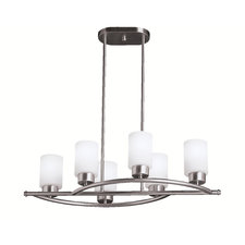 Modena Linear Chandelier/Semi-Flush