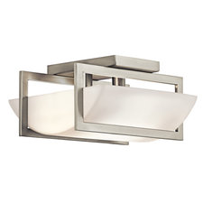 Crescent View Flush Mount