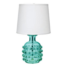 Ribbon Table Lamp with Cone Shade