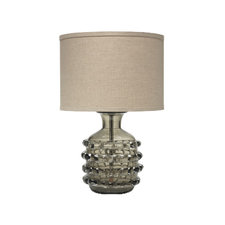 Ribbon Table Lamp with Drum Shade