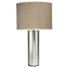 Gossamer Table Lamp with Drum Shade