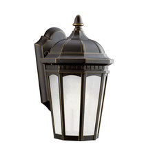 Courtyard Fluorescent Small Outdoor Wall Sconce