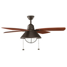Seaside Outdoor Ceiling Fan with Light